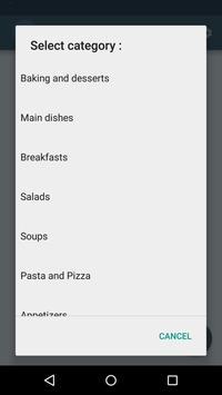 Easy CookBook Free apk screenshot