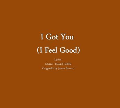 I Got You (I Feel Good) poster