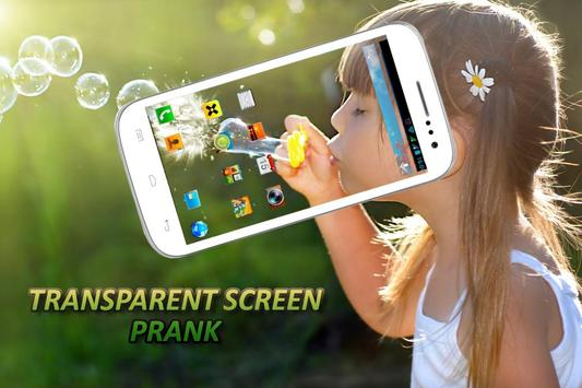 Transparent Screen Prank apk screenshot