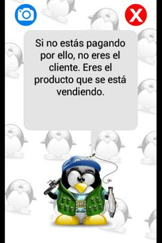 Tux Dice: Frases frikis screenshot 2