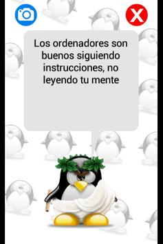 Tux Dice: Frases frikis screenshot 3