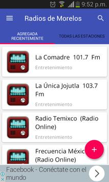 Radios of the State of Morelos poster