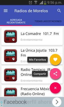 Radios of the State of Morelos screenshot 2