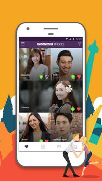 Indonesian Singles- Chat Indonesians on Dating App poster