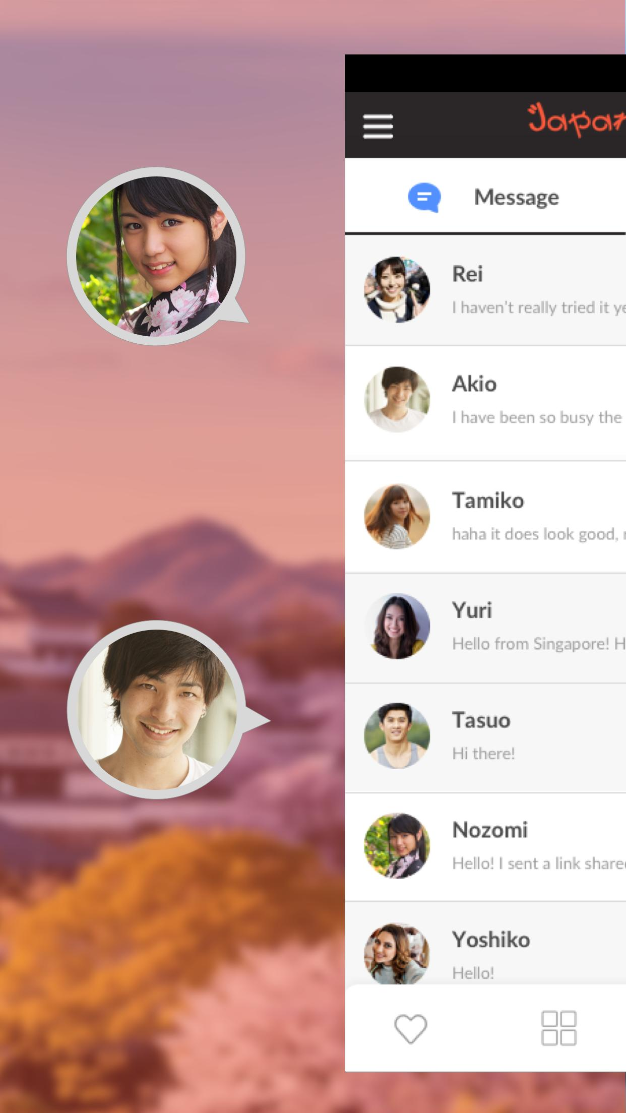 Japanese Singles- Dating App, Chat & Meet Japanese for Android - APK