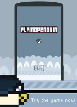 Flappy Penguin: Endless poster