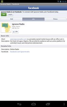 iGroove Radio screenshot 4
