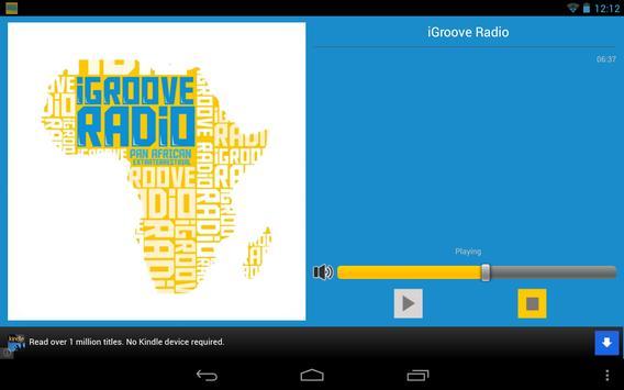 iGroove Radio screenshot 2