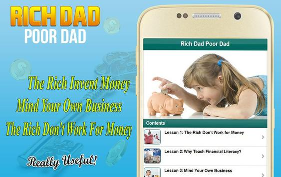 Brief for Rich Dad Rich Poor poster