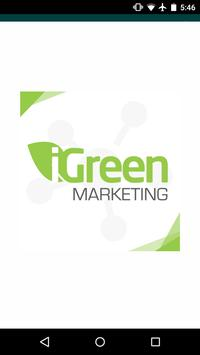 iGreen Marketing poster