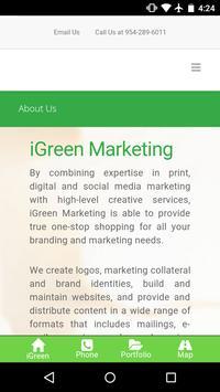 iGreen Marketing screenshot 1