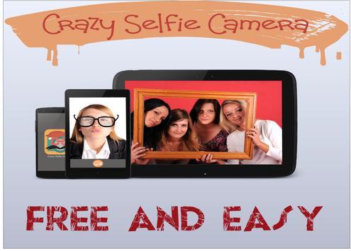 Top Crazy Selfie Camera poster