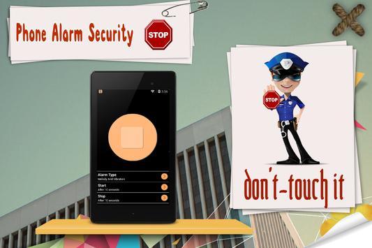 Phone Alarm Security:AntiTheft apk screenshot