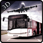 Airport Bus Drive 3D icon