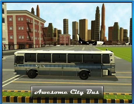 Airport Bus Drive 3D poster