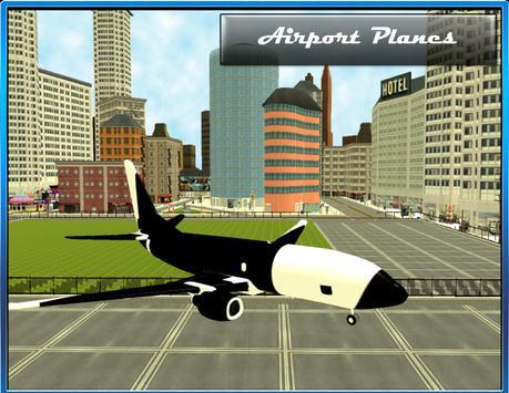 Airport Bus Drive 3D screenshot 14