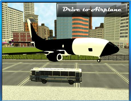 Airport Bus Drive 3D screenshot 2