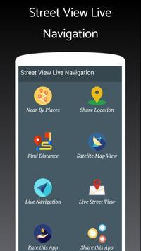 Live StreetView met navigatie-poster