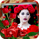Love Flower Photo Frame & Happy New Year-APK