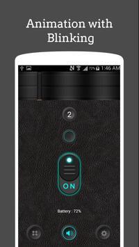 Shake Torch Light:Led Bright Flashlight screenshot 4