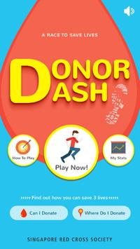 Donor Dash poster