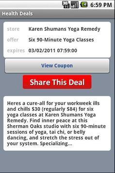 Health Deals apk screenshot