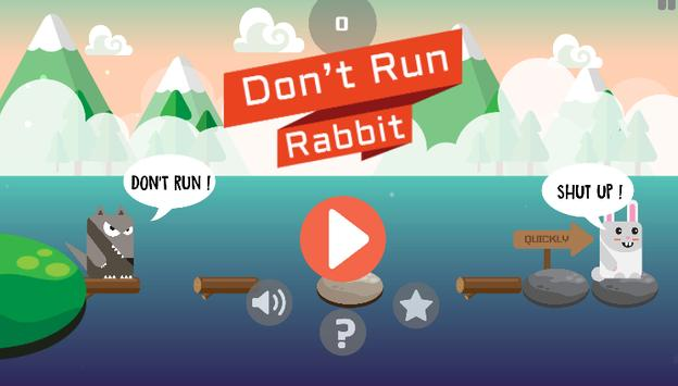 Don't Run Rabbit poster