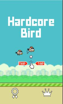 Hardcore Bird poster