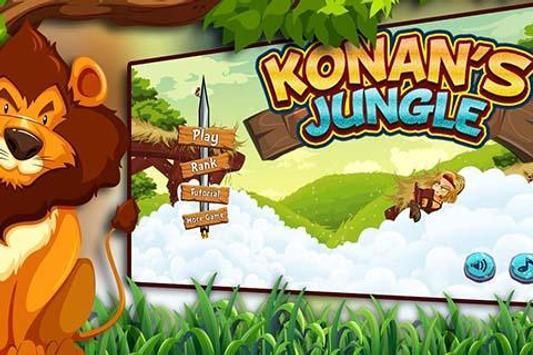Konan's Jungle poster
