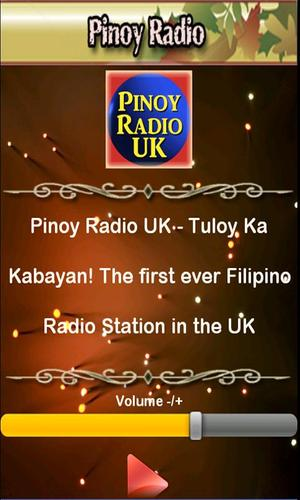 Pinoy Radio UK for Android - APK Download