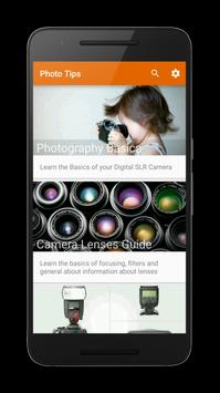 Photo Tips Free - Learn Photography poster
