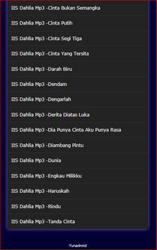 Lagu Dangdut IIS DAHLIA terlengkap Mp3 screenshot 2