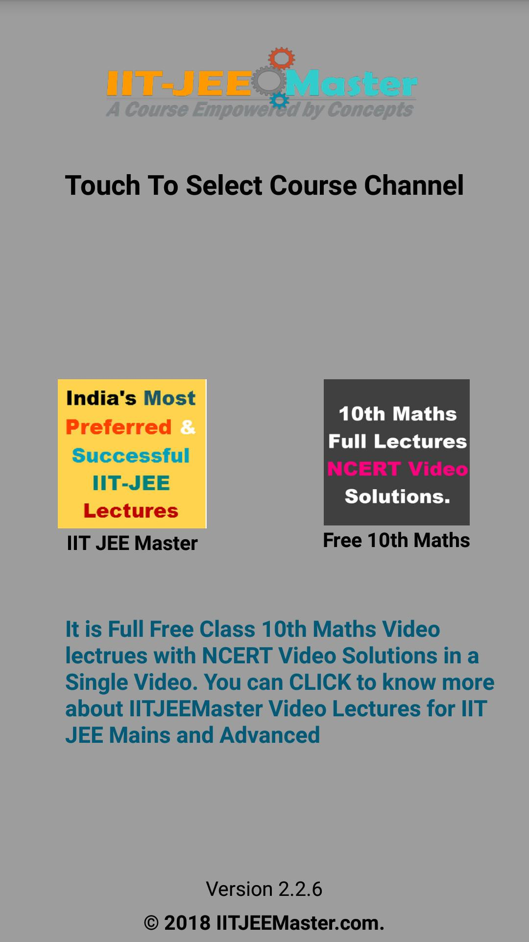 Class 10th Maths NCERT Solutions Video Lectures for Android - APK