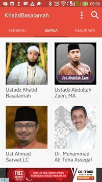 Ceramah Khalid Basalamah apk screenshot