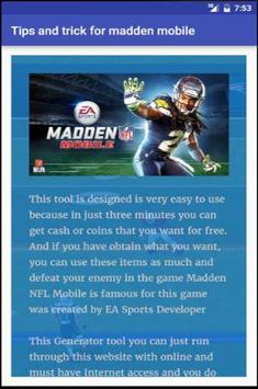 tips trick for madden mobile for android apk download