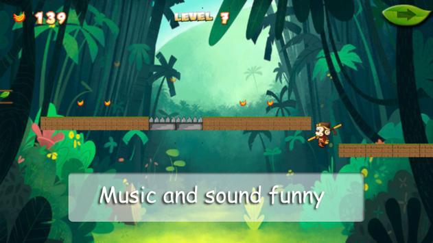 adventure monkeys junggle apk screenshot