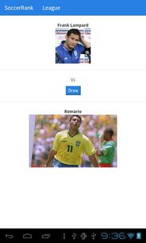 SoccerRank apk screenshot