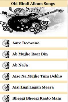 Old Hindi Album Songs poster