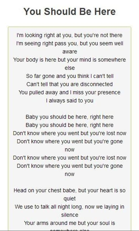 Intro You Should Be Here Kehlani Lyrics idea gallery