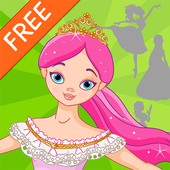 Princess Shadow Puzzles for Kids Free icon