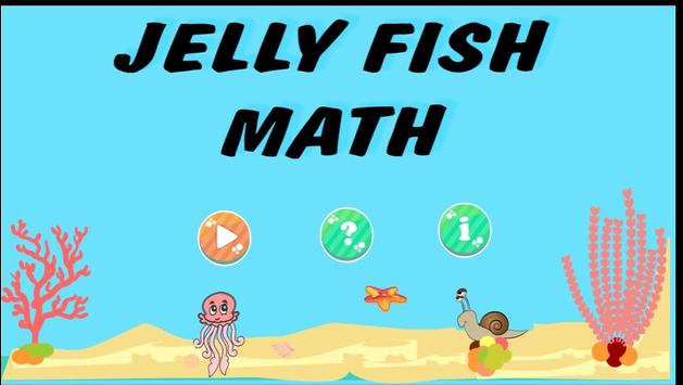 Jelly Fish Math poster