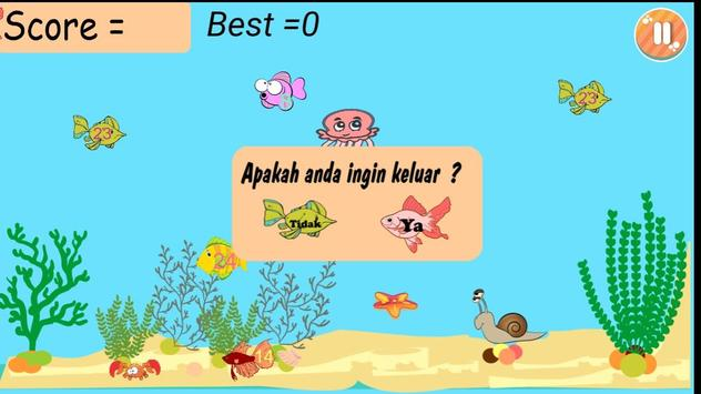 Jelly Fish Math screenshot 2