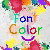 Font Color Style icon