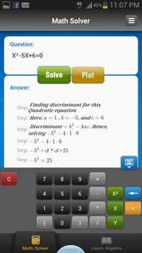 iKaes - Algebra & Math Solver постер
