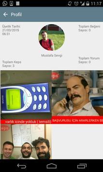 KEPS - Sosyal Caps Platformu apk screenshot