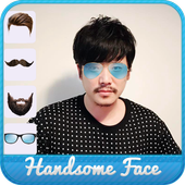 Handsome Face Changer icon