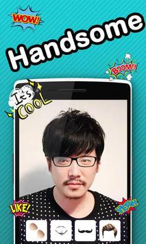 Handsome Face Changer screenshot 2