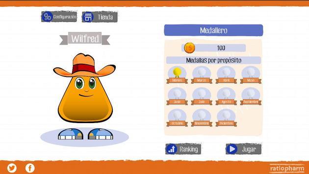 Los retos de Ratioball apk screenshot