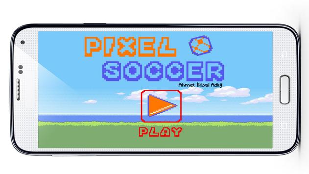 Pixel Soccer poster