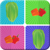 Matching Games Vegetables icon